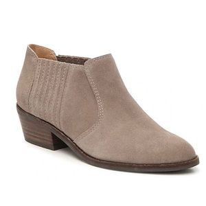 Lucky Brand Folley suede ankle booties 10 NEW
